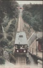 Collectible old Postcard Hong Kong peak tramway